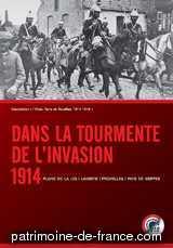 article du blog : Dans la tourmente de l'invasion, 1914