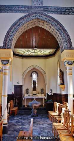 Église neuve, dédiée à Saint-Martin. Patrimoine classé, étudié ou inscrit dit 'Eglise Saint-Martin' à masny (nord 59176).