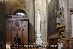 La partie de l'église de Saint Sulpice qui fut abattue en 1646 était la plus ancienne : mais comme il n'en est point resté de dessin, on ne peut pas dire précisément de quel siècle elle était ; on peut conjecturer seulement qu'elle était du XIIIe siècle.