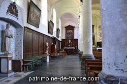 Patrimoine classé, étudié ou inscrit dit 'Église paroissiale Saint-Maurice' à bouvignies (nord 59870).