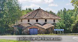 Patrimoine classé, étudié ou inscrit dit 'Métairie ronde' à st lieux lafenasse (tarn 81120).