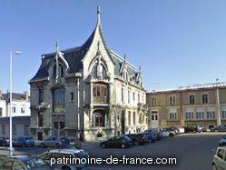 Patrimoine classé, étudié ou inscrit dit 'Fabrique, Maison d'Industriel dite Maison Bergeret' à nancy (meurthe et moselle 54000).
