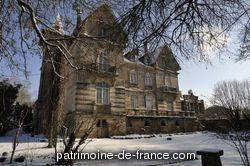 Patrimoine classé, étudié ou inscrit dit 'Château Lobstein' à ville sur illon (vosges 88270). Maison de maître construite en 1904 pour le brasseur Jacques Lobstein, à proximité de son entreprise, la Grande Brasserie et Malterie Vosgienne.