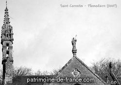 Patrimoine classé, étudié ou inscrit dit 'Chapelle Saint Corentin' à plomodiern (finistere 29550).