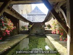 Fontaine de Dévotion Saint-Aldric, Lavoir