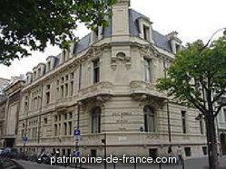 Patrimoine classé, étudié ou inscrit dit 'Ecole normale de musique Alfred Cortot' à paris 17eme arrondissement (paris 75017).