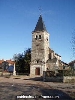 Patrimoine classé, étudié ou inscrit dit 'Eglise Paroissiale Saint-Bénigne' à st broing les moines (cote d'or 21290).