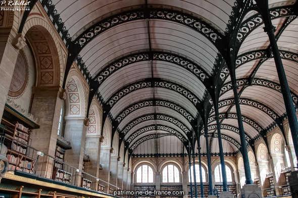 Bibliothèque Sainte-Geneviève à Paris 5eme arrondissement.