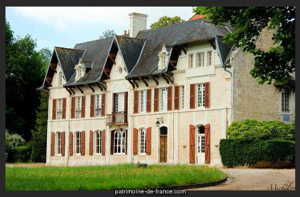 Maison dite Château du Mesnil Soleil