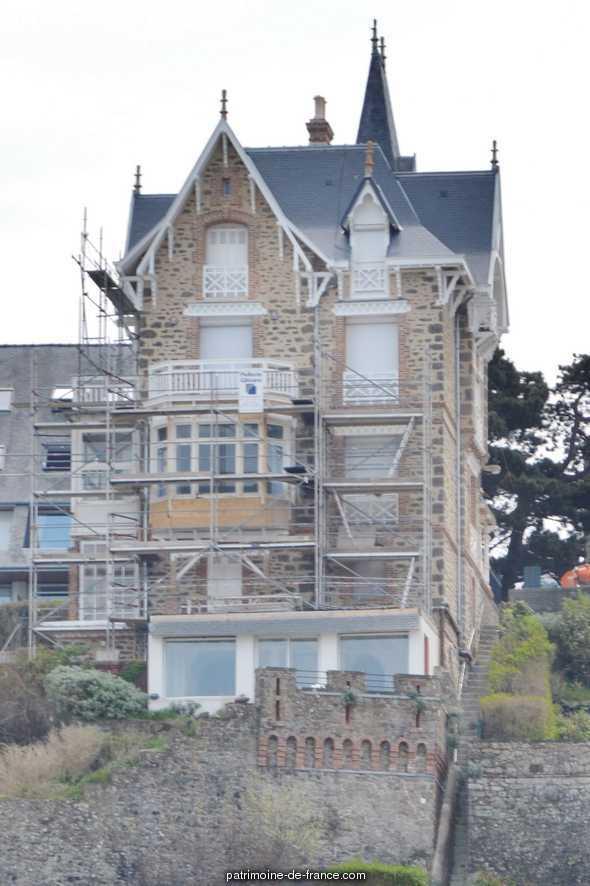 Maison de villégiature balnéaire dite villa Port Salut, puis dite villa Cézembre
