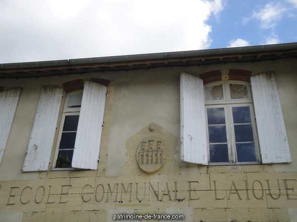 Ferdinand Buisson girls primary school, French Heritage monument to Villeneuve sur lot.