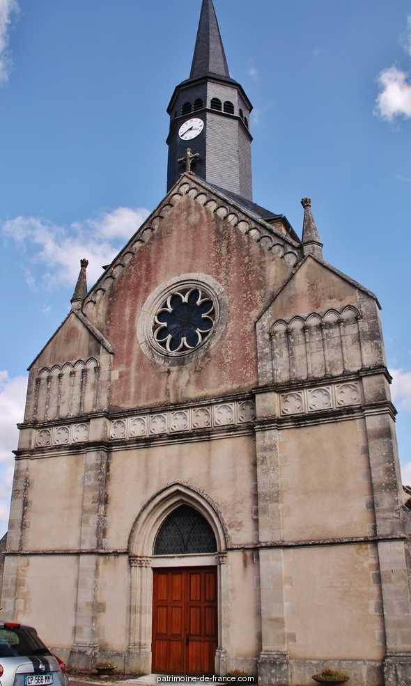 Eglise Saint-Siméon à Menou.