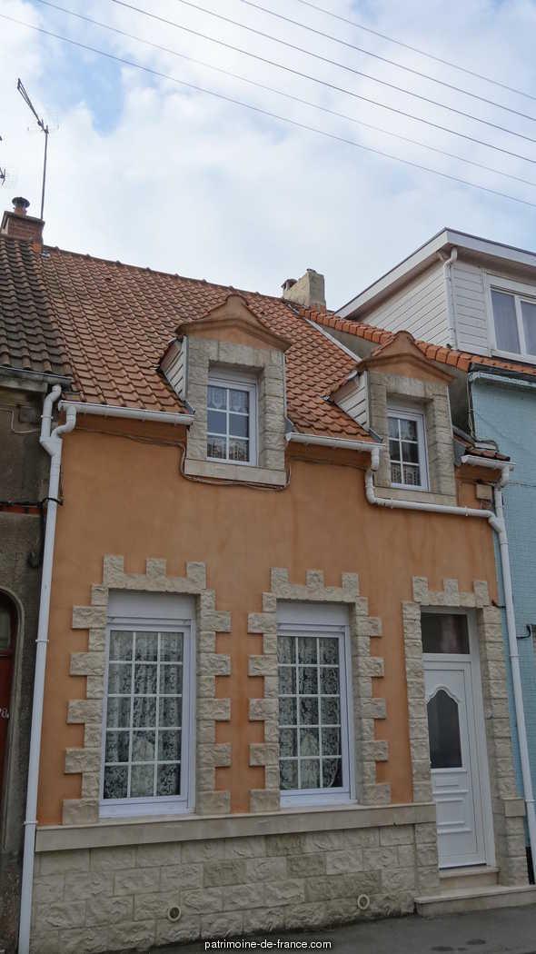 Maison de Pêcheur 26 rue Libert à Le portel.