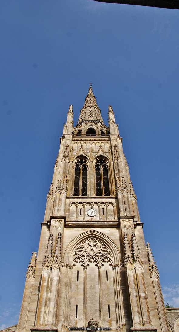 St. John's Church, French Heritage monument to Libourne.
