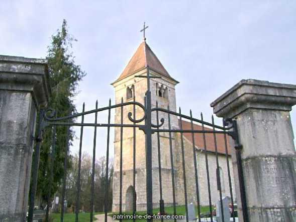 Eglise de Leugney à Bremondans.