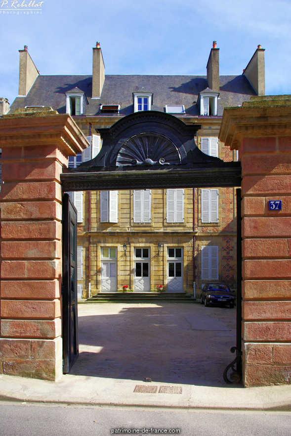 Hôtel Chabot à Moulins.