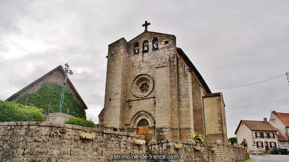 Eglise Paroissiale Sainte-Valérie à Pontcharraud.