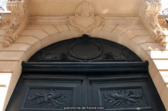 Hôtel de Salm-Dyck (ancien) ou ancien hôtel de Ségur à Paris 7eme arrondissement.