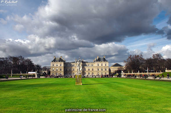 Jardin du Luxembourg à Paris.