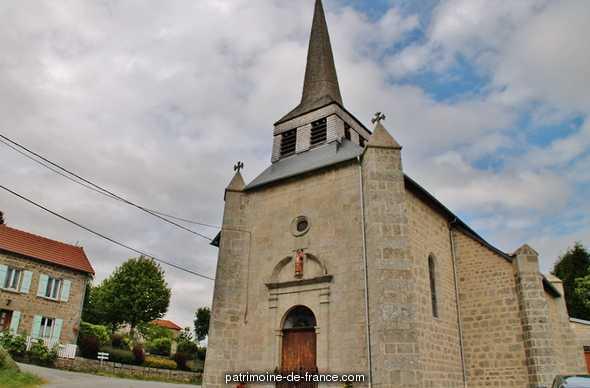 Church parish Saint-Pardoux, French Heritage monument to St pardoux d arnet.