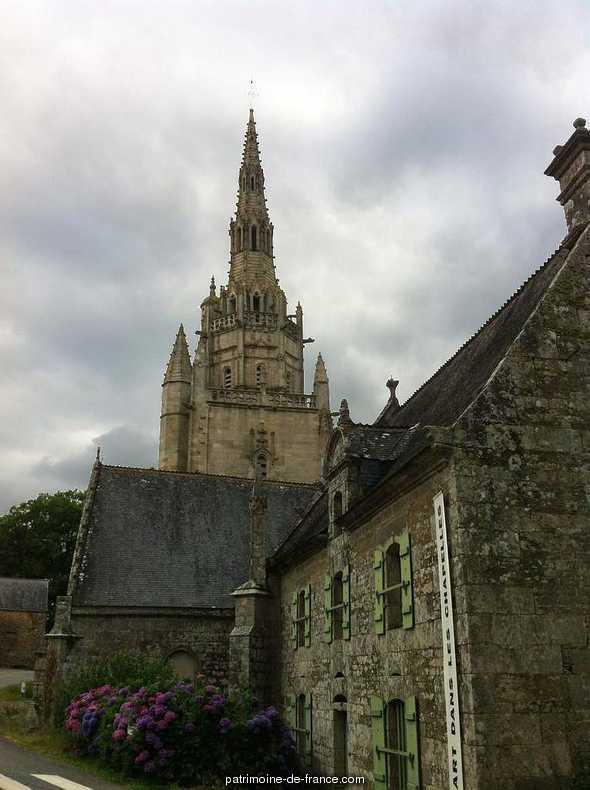 Chapelle de Saint-Nicodème à Plumeliau.