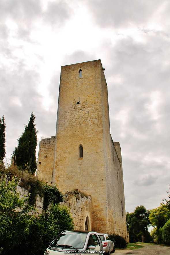 Château du Clot à Ste mere.