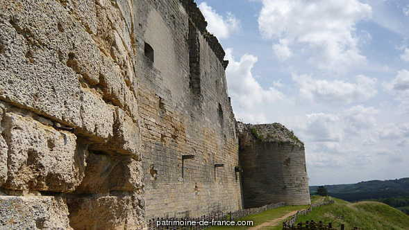 Ruins of the castle of Coucy.