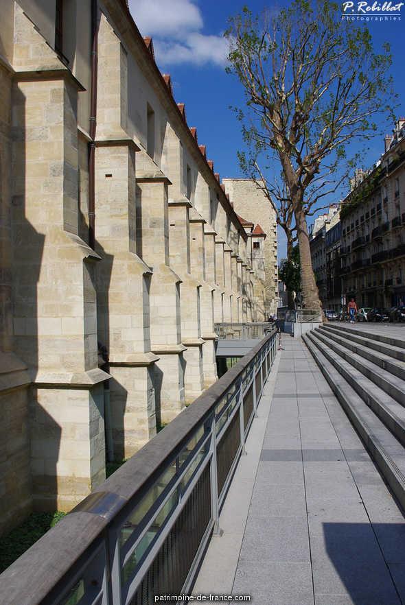 Ancien couvent des Bernardins à Paris 5eme arrondissement.