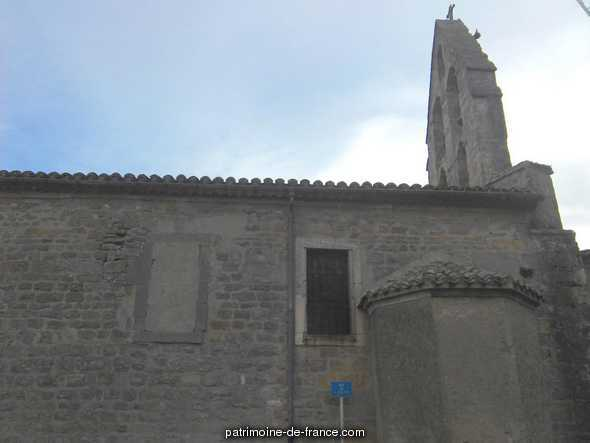 Church Saint-Saturnin and former priests House adjoining, French Heritage monument to Carcassonne.