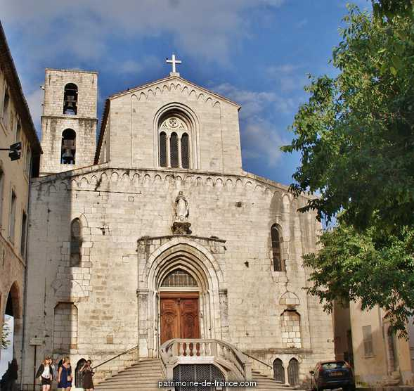 (Old) Cathedral, French Heritage monument to Grasse.
