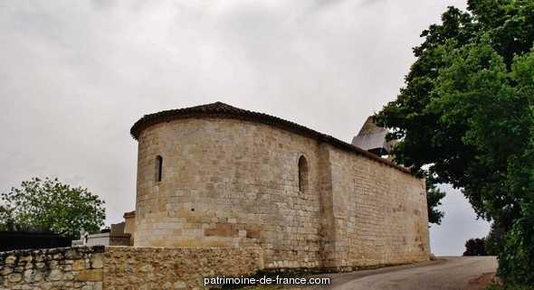 Eglise Paroissiale Saint-Jean à St jean du bouzet.
