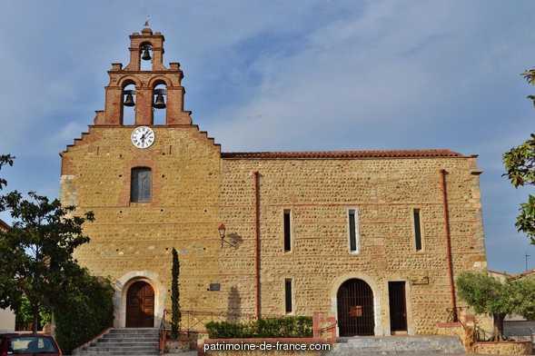 Eglise Paroissiale Saint-Jean L'Evangéliste à Peyrestortes.