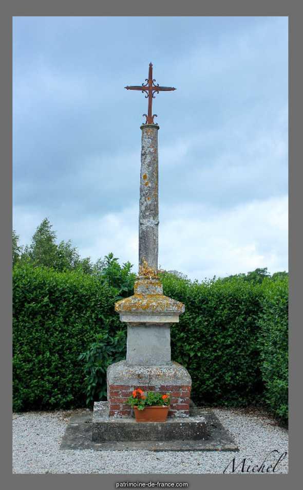 Croix de Cimetière  lieu dit l'Eglise