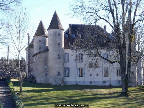 Château lieu dit Chazelles