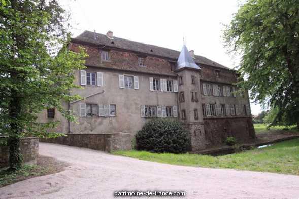 Château de Grünstein à Stotzheim.