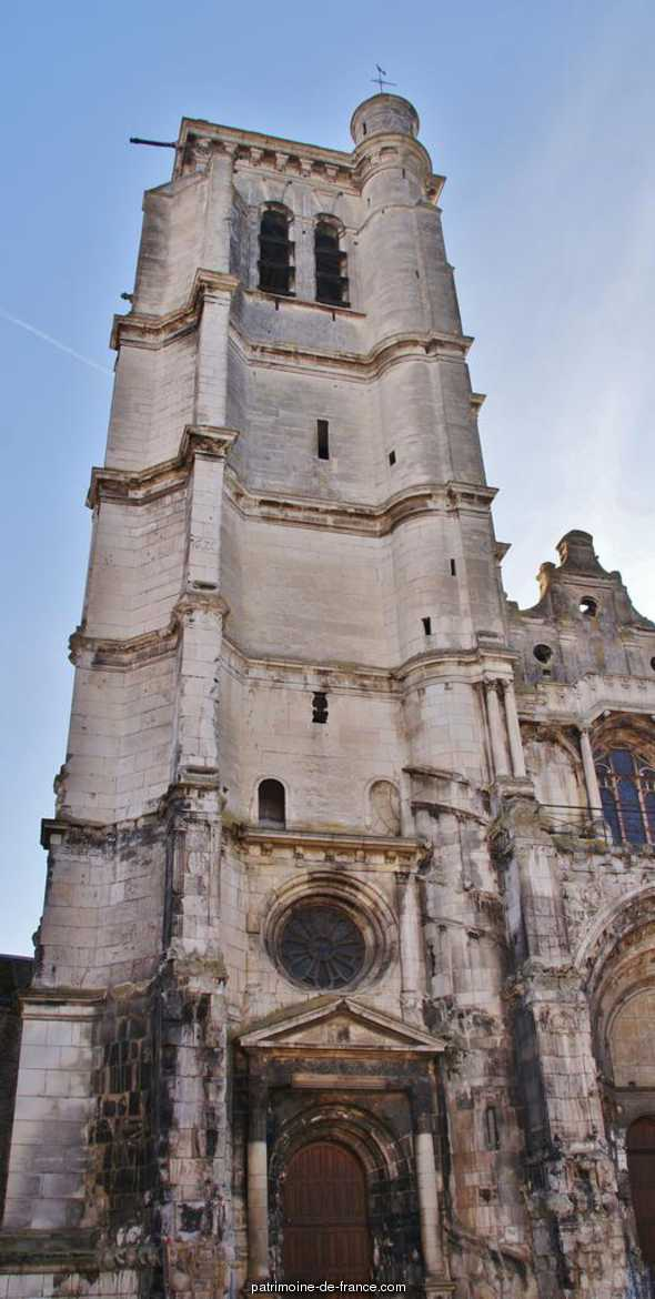 Church of Notre-Dame, French Heritage monument to Tonnerre.