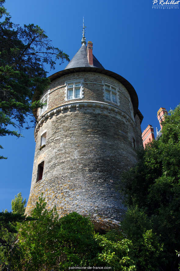 Castle, French Heritage monument to Pornic.