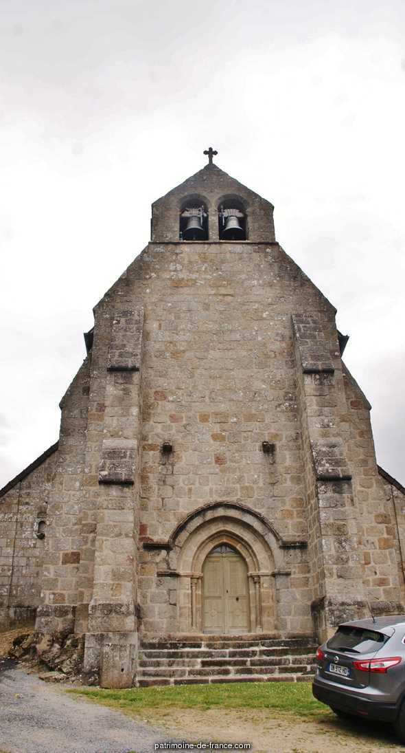 Church parish Saint-Fredulphe, French Heritage monument to St frion.