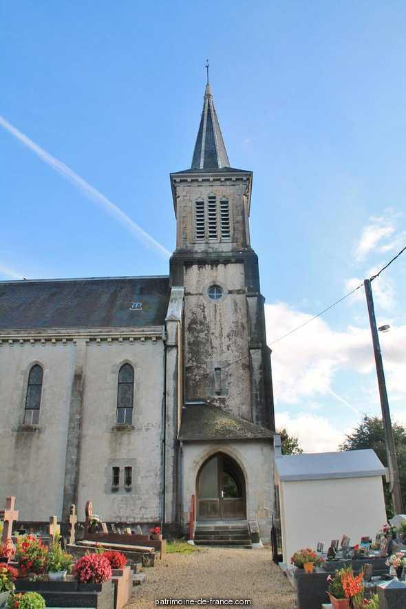 Parish church Notre-Dame - de - L'Assomption, French Heritage monument to Bonloc.
