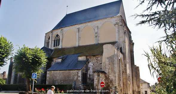 Old Abbey, French Heritage monument to St satur.