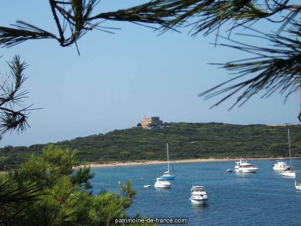 Fort du Grand Langoustier à Hyeres.