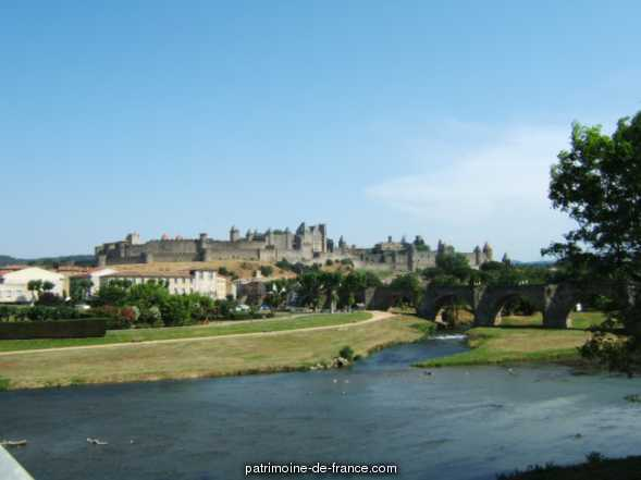 City, French Heritage monument to Carcassonne.