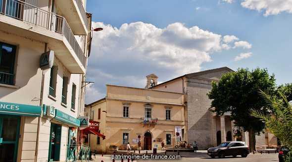 Grand Temple à Anduze.