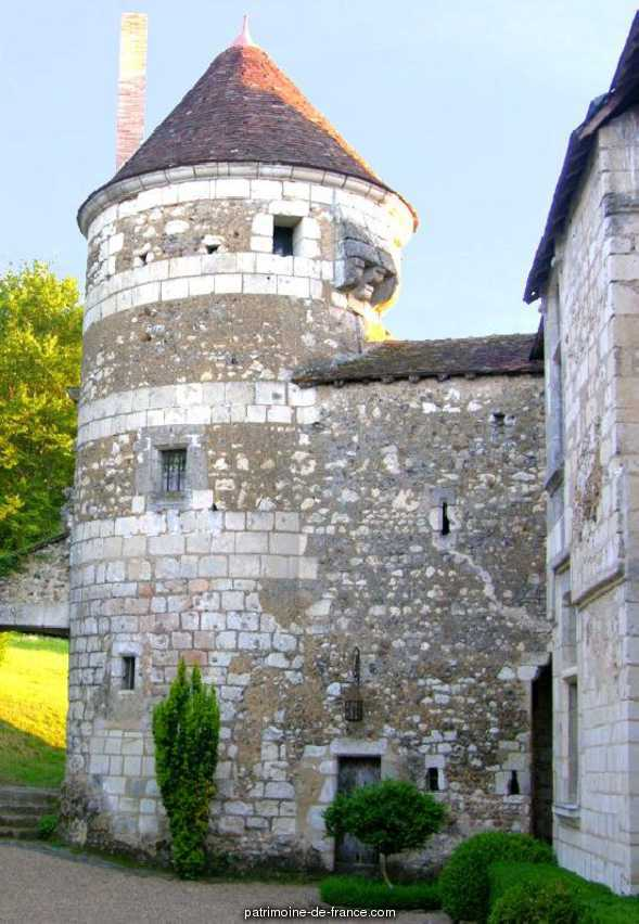 Château de Matval à Bonneveau.