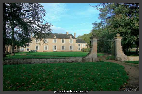 Château  lieu dit le Mesnil-Saulce