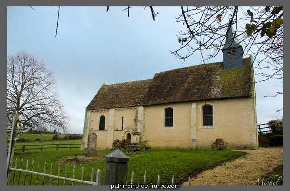 Eglise de Mirbel et son ancien cimetière