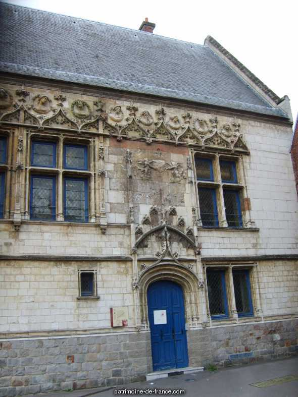 Immeuble dit Maison du Bailliage ou la Malmaison à Amiens.