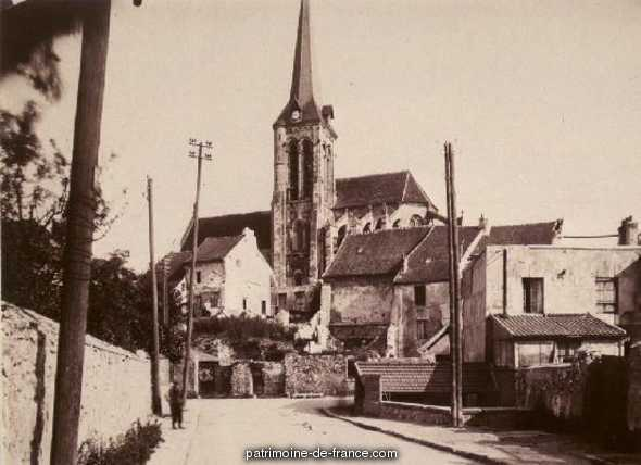 Church Saint-Aquillin, French Heritage monument to Fontenay en parisis.