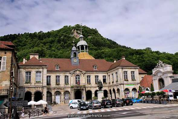 City Hall, French Heritage monument to Salins les bains.