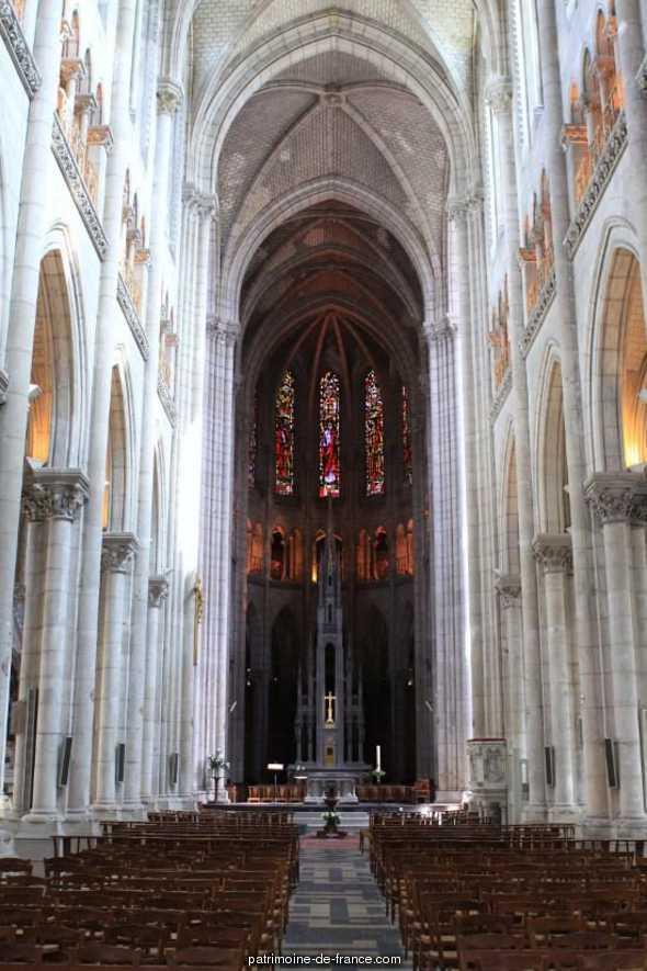 Eglise Saint-Nicolas à Nantes.